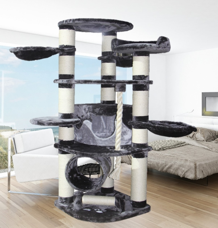 robuster stabiler katzenbaum kratzbaum modell mallorca pet homes ag. Black Bedroom Furniture Sets. Home Design Ideas